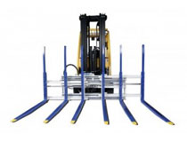 material handling attachments for rent