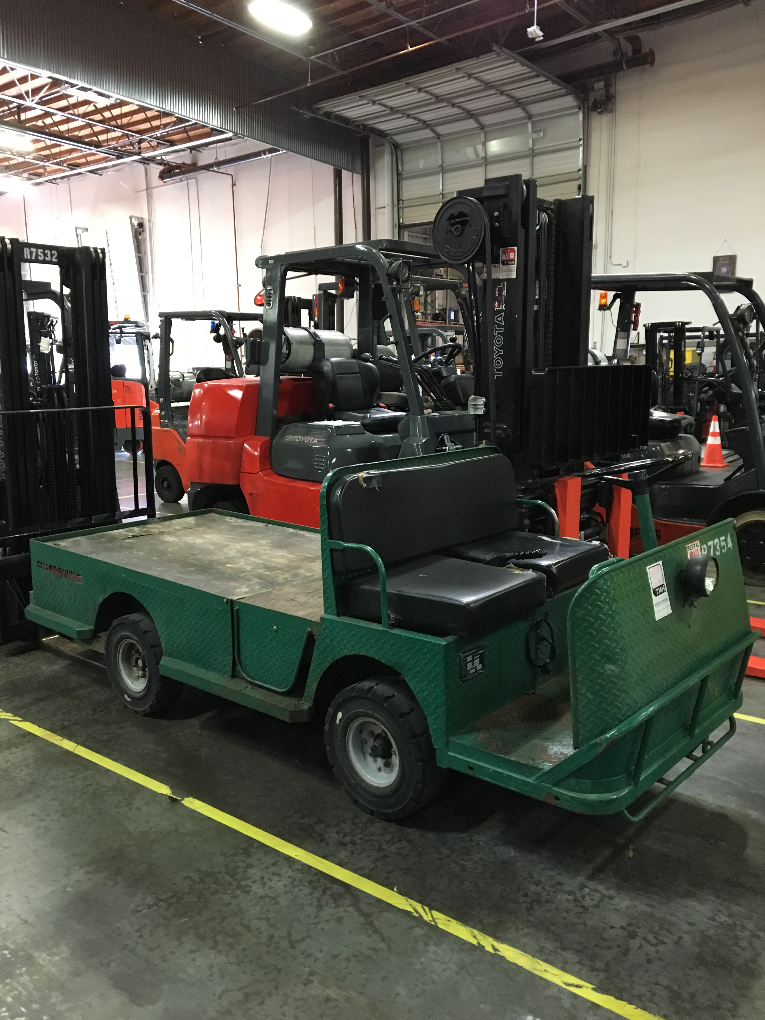 Electric Taylor-Dunn Used Equipment Utility Vehicles