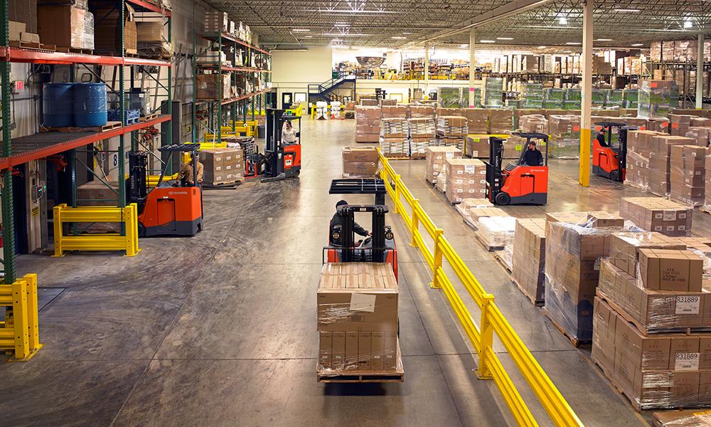 Warehouse Running Smoothly