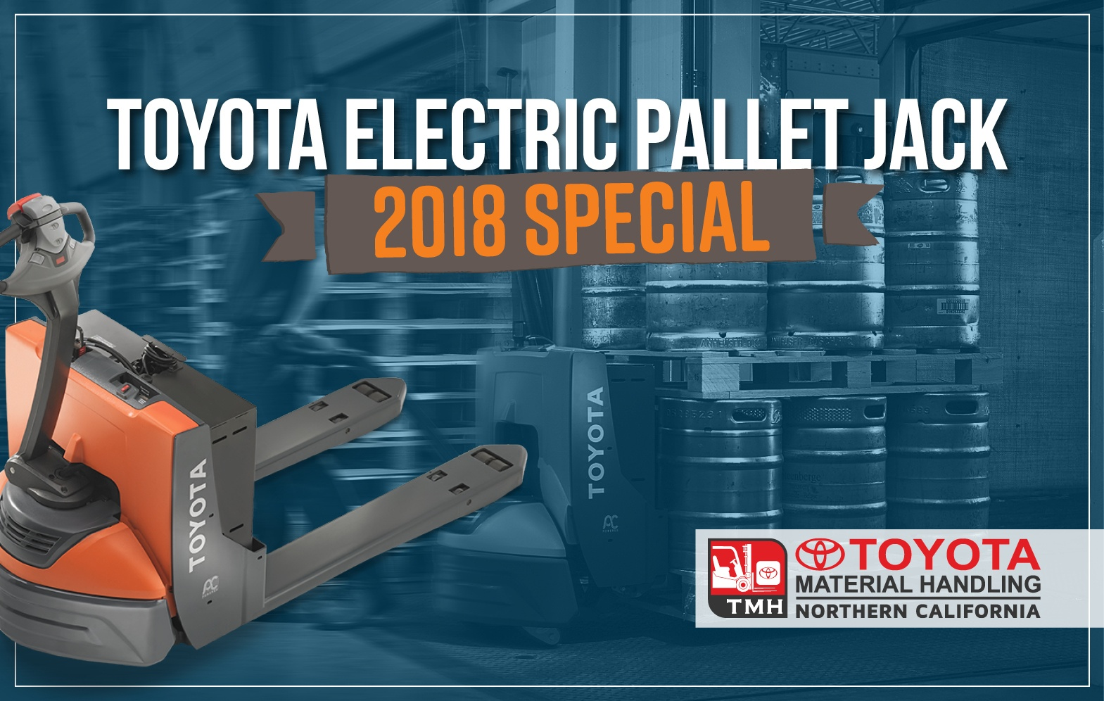 Toyota Electric Pallet Jack 2018 Special